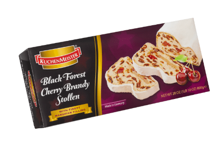 Black Forest Cherry Brandy Stollen