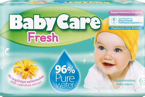 Babycare baby care baby fresh water wipes