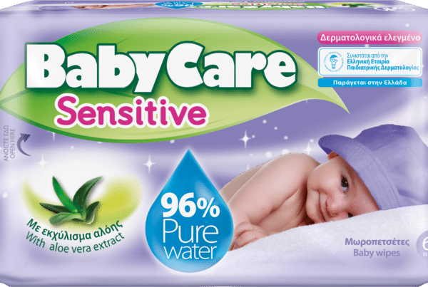 Babycare baby care baby sensitive water wipes