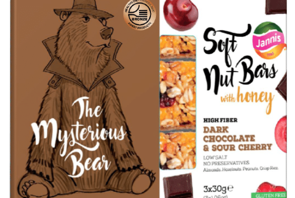 Jannis soft nuts bars mysterious bears soft bars with honey