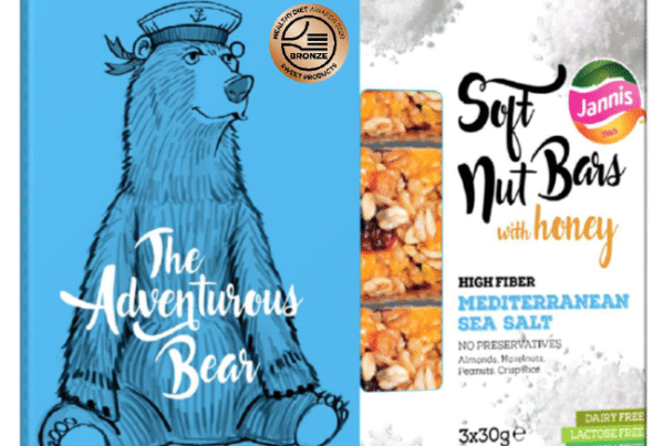 Jannis soft nut bars the adventurous bear with Mediterranean sea salt