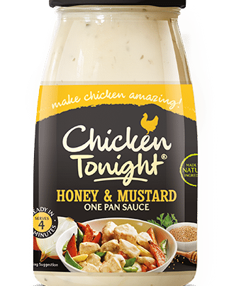 chicken tonight honey and mustard sauce