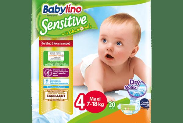 Babylino Maxi diapers No. 4