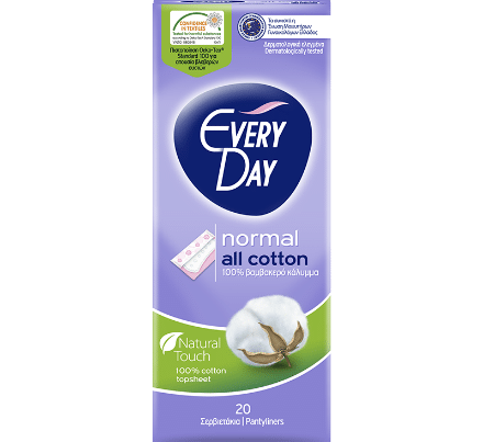 everyday all cotton pantyliners