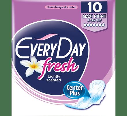 everyday pads fresh maxi night