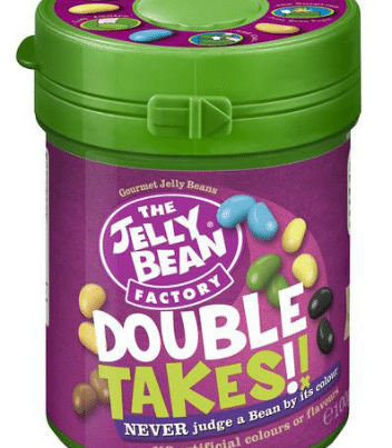 jelly beans double takes can 100gr
