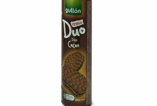 gullon Mega duo double chocolate biscuits