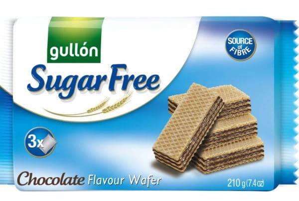 gullon sugar free chocolate wafer