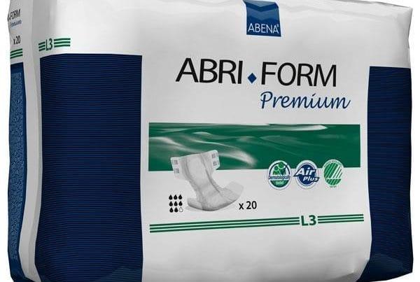 abri form adult diapers l3