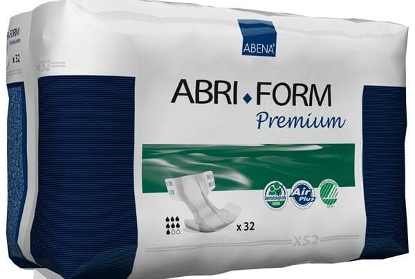 abri form adult diapers xs2