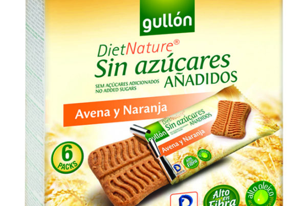 gullon diet nature oats and orange biscuits