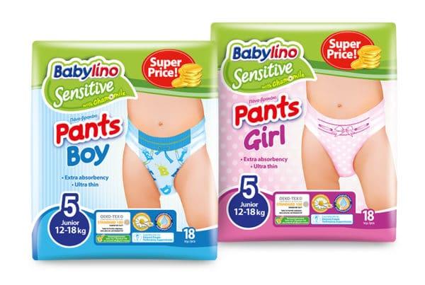 babylino pants size 5