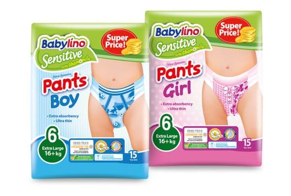 babylino pants size 6
