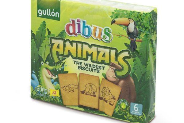 gullon dibus animals biscuits