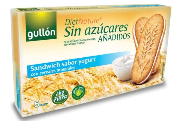 Gullon Diet nature sandwich yogurt biscuits