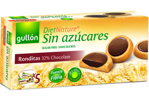 gullon diet nature ronditas chocolate