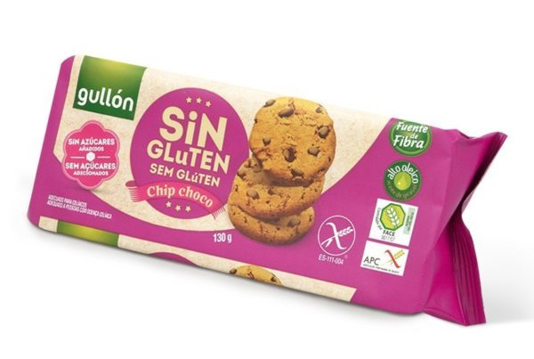 gullon gluten free chocolate chip cookies