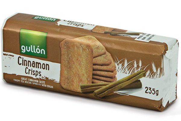 gullon cinnamon crisps
