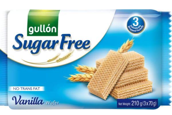 gullon sugar free vanilla wafer