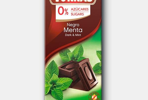 torras sugar free dark chocolate with mint
