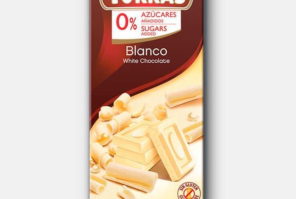 torras sugar free white chocolate
