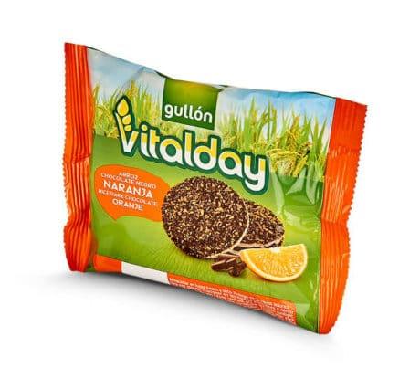 vitalday chocolate orange rice cakes