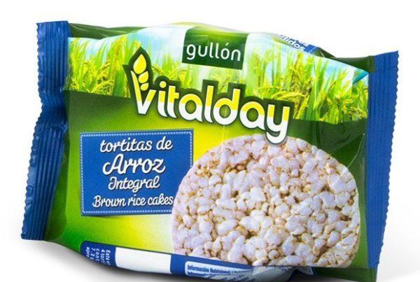vitalday rice cakes plain
