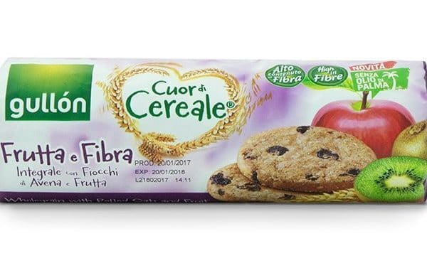 cuor di cereale fruit and fibre biscuits