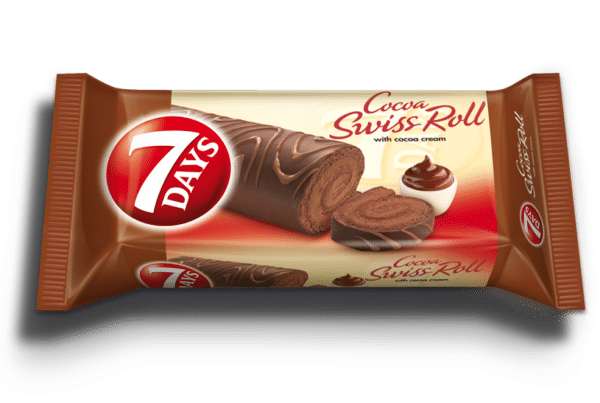 7days swiss roll chocolate coated