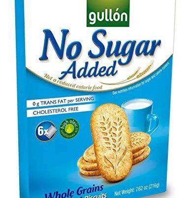 gullon no added sugar breakfast biscuits