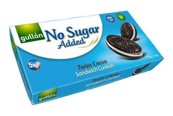 gullon no sugar added twins biscuits
