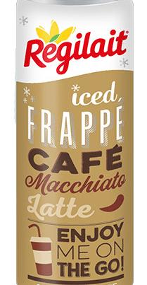 regilait iced frappe coffee