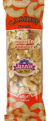 jannis cashew bar