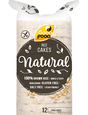good food rice cakes natural