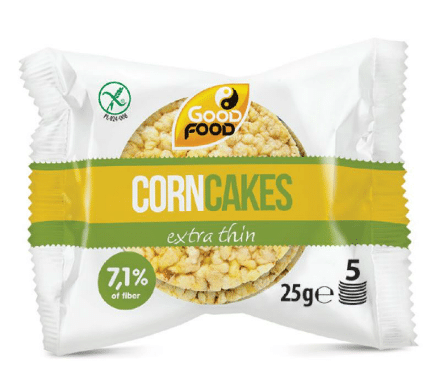 good forn corn cakes 5 pieces small pack extra thin
