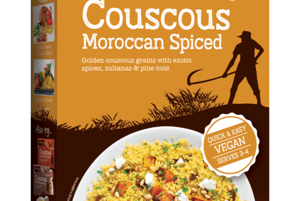 artisan moroccan spiced vegan couscous