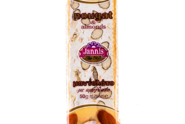 Nougat bar with almonds 50g