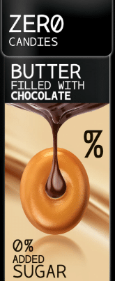 ZERO CANDIES BUTTER 32% AND CHOCOLATE