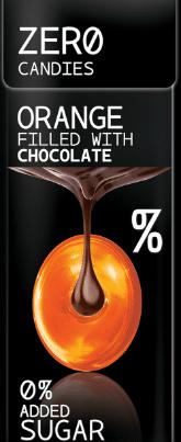 ZERO CANDIES ORANGE AND CHOCOLATE FLAVOUR