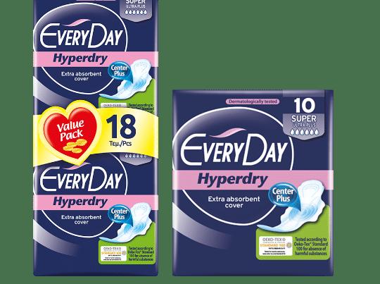 everyday hyperdry pads super