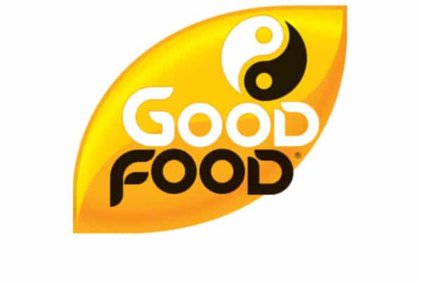good food rice and corn cakes logo