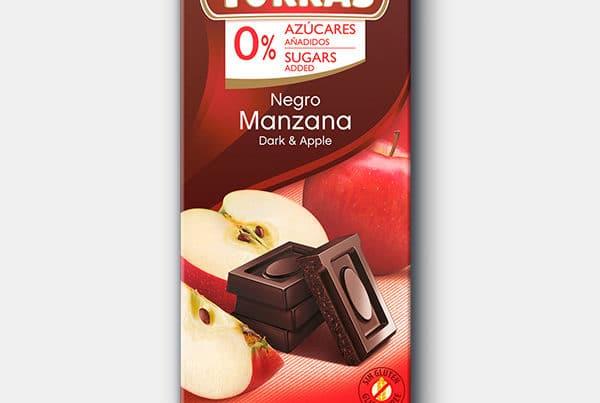 torras sugar free chocolate with apple