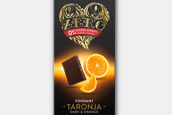torras zero sugar free dark chocolate and orange