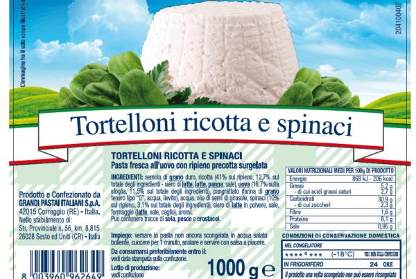 bertarini tortelloni ricotta e spinaci