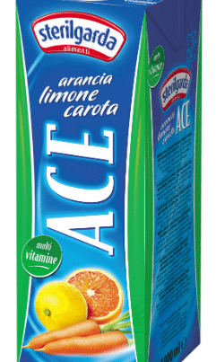 sterilgarda ace juice with lemon, carrots and orange