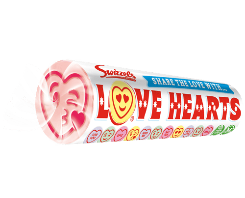 GIANT LOVE HEARTS SWIZZELS
