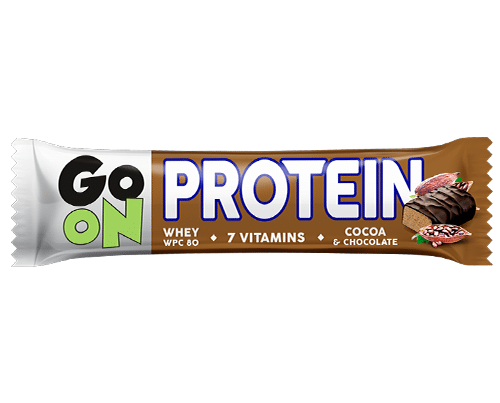 GO ON protein bar chocolate