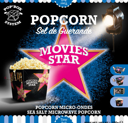 pop box popcorn movie stars sea salt microwave popcorn