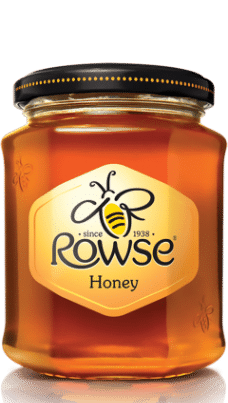 Rowse honey Clear-Jar-340gr -w