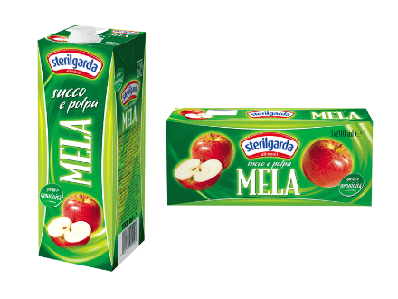 Sterilgarda juices apple large and small packs-